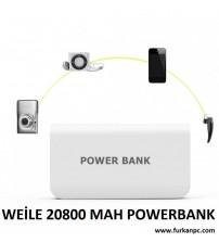 POWERBANK A131 WEİLE 20800 AMPER