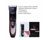 Powertec Tr 6500 Saç Sakal Traş Makinesi