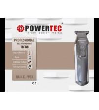 Powertec Tr 758 Saç Sakal Traş Makinesi Digital Ekran Profesyonel