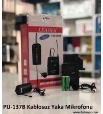 PU-137B Kablosuz Yaka Mikrofonu