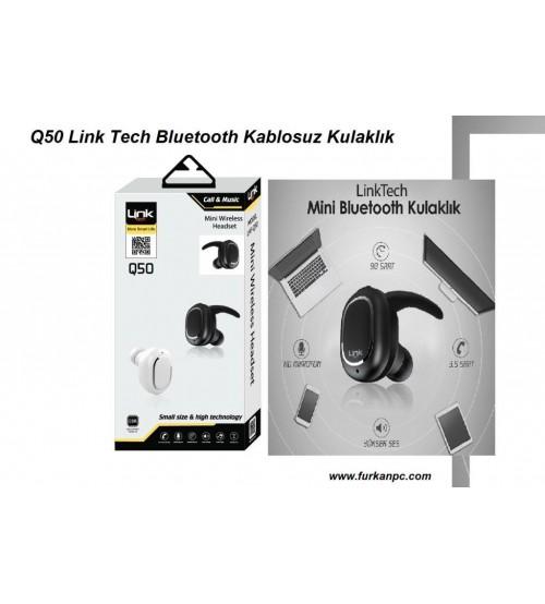 Q50 Link Tech Bluetooth Kablosuz Kulaklık