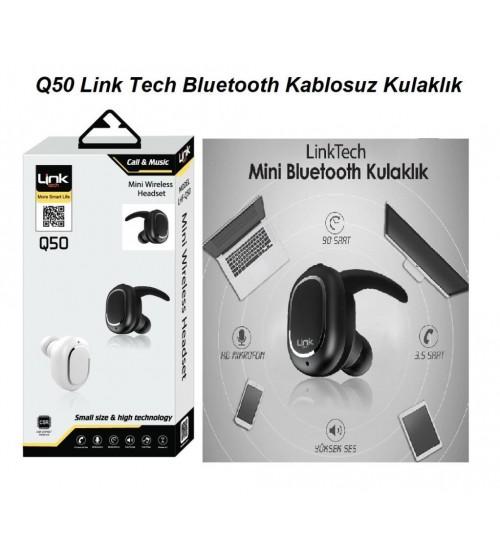 Q50 Link Tech Bt Kablosuz Kulaklık