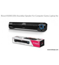 RİZUM R1000 220V 2CH CRYSTAL SOUNDBAR SPEAKER USB