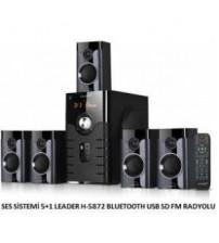 SES SİSTEMİ 5+1 LEADER H-5872 BLUETOOTH USB SD FM RADYOLU