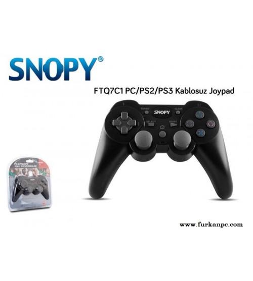 Snopy FTQ7C1 PC/PS2/PS3 Kablosuz Oyun Kolu