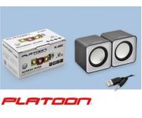 PL-4082 Platoon PC Speaker 1+1 Usb