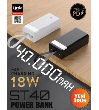 ST40 Link Tech Powerbank 40000 mAh