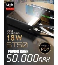 ST50 Link Tech Powerbank 50000 mAh