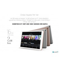 "TABLET 10"" HOMETECH HT 10MT 2GB 16GB 1280X800 SİM KARTLI"