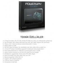 "TABLET 7"" POWERWAY DRN-X400 JETBLACK 8GB 512MB"