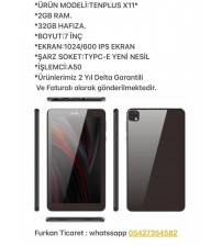Tenplus Pc Tablet 2Gb Ram 32Gb Hafıza İps Ekran