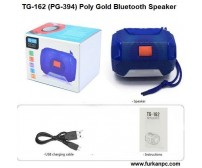 TG-162 (PG-394) Poly Gold Bluetooth Speaker