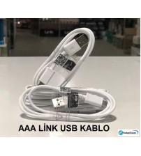 AAA Kalite S4 Usb Kablo Micro