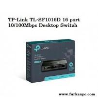 TP-Link TL-SF1016D 16 port 10/100Mbps Desktop Switch