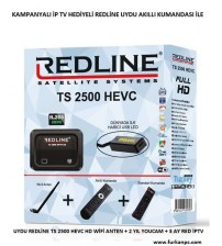 TS 2500 Redline Full Hd Uydu Alıcı
