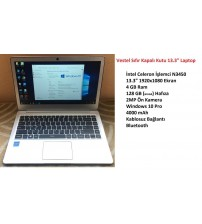Vestel Laptop V Note 1341 İntel N3450 4GB 128GB 13.3""