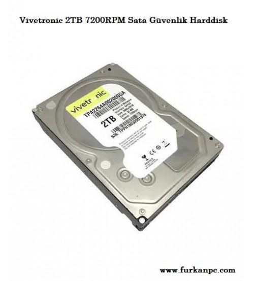 Vivetronic 2TB 7200RPM Sata Güvenlik Harddisk