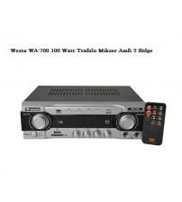 Westa WA-700 100 Watt Trafolu Mikser Amfi 2 Bölge