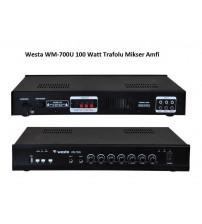 Westa WM-700U 100 Watt Trafolu Mikser Anfi 2 Bölge