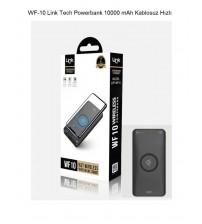 WF-10 Link Tech Kablosuz Powerbank 10000 mAh Hızlı