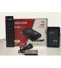 Wİ-Fİ HEDİYELİ REDLINE G40 FULL HD UYDU ALICISI + WIFI + IPTV + ÜCRETSİZ SERVER