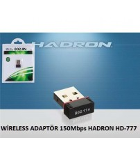 WİRELESS ADAPTÖR 150Mbps HADRON HD-777