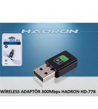 WİRELESS ADAPTÖR 300Mbps HADRON HD-778