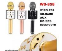 WS-858 BT Karaoke Usb Sd Aux