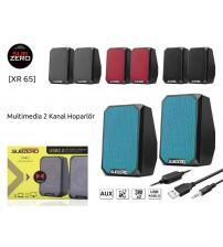 XR-65 Subzero PC Speaker 1+1 Usb