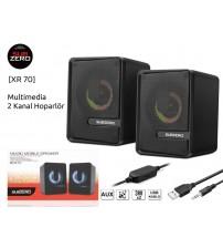 XR-70 Subzero PC Speaker 1+1 Usb