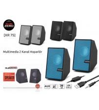 XR-75 Subzero PC Speaker 1+1 Usb