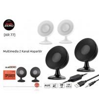XR-77 Subzero PC Speaker 1+1 Usb