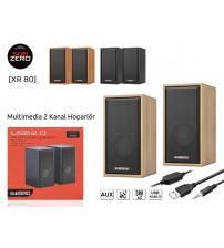 XR-80 Subzero PC Speaker 1+1 Usb